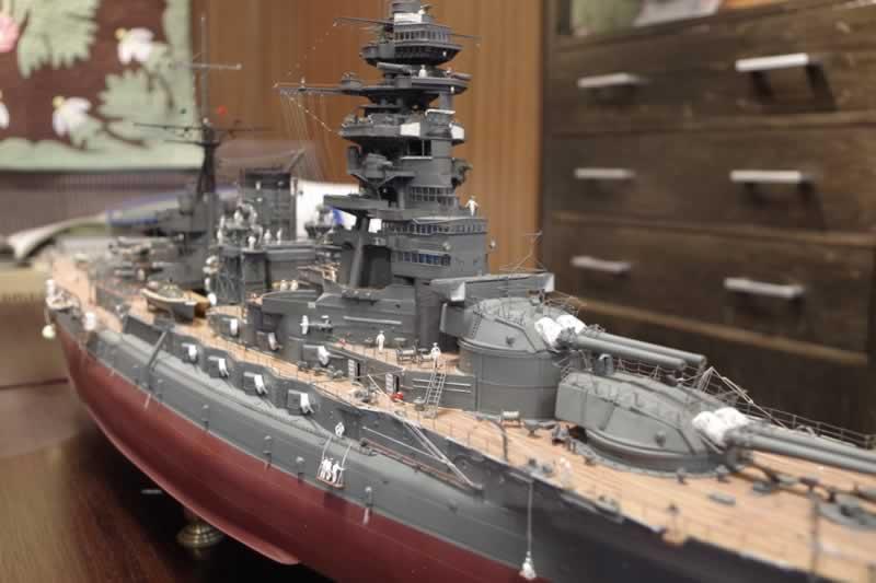ミニチュア戦艦