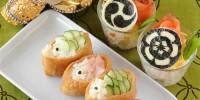 人気武将も参戦!子供の日は簡単『家紋デコ』で寿司パーティでござる!