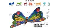 4月22日からエリック・カール展が開催!「はらぺこあおむし」は最初、「あおむし」ではなく「紙魚」だった。
