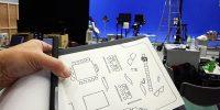 個人撮影NGのCM制作現場……近未来クリップボードを使うという手は、アリかナシか