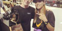 ロサンゼルスで行われた世界最高峰のスケートボードコンテスト「Street League Skateboarding Super Crown」にて西村碧莉が4位!