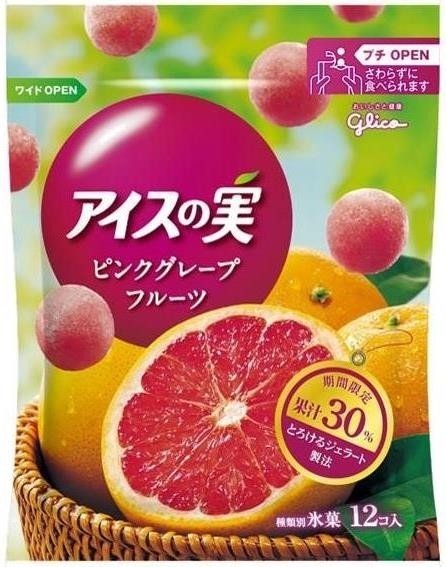 アイスの実 ピンクグレープフルーツ