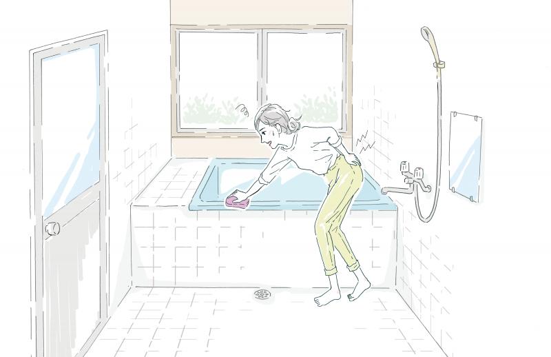 主婦の嫌いな掃除1位「お風呂掃除」に費やす時間は1年で60時間以上?!ストレスを減らす「時短」の方法は?