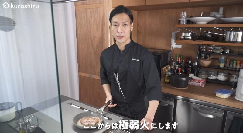 料理人城二郎シェフ